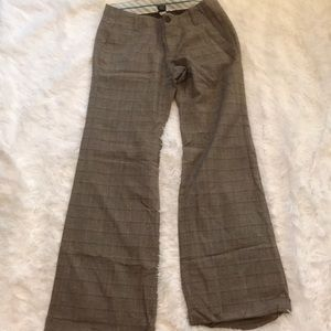 GAP plaid dress pants